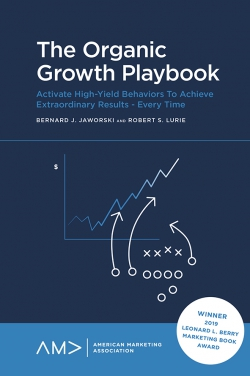 Jacket image for The Organic Growth Playbook
