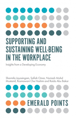 Jacket image for Supporting and Sustaining Well-Being in the Workplace