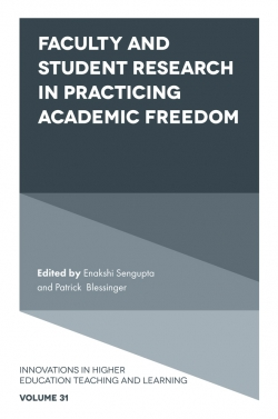 Jacket image for Faculty and Student Research in Practicing Academic Freedom