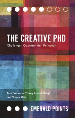 Jacket image for The Creative PhD