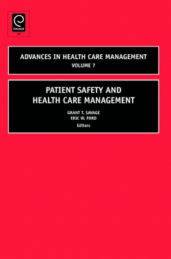 Jacket image for Patient Safety and Health Care Management