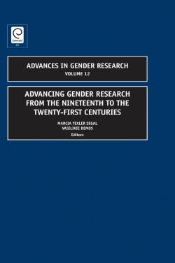 Jacket image for Advancing Gender Research from the Nineteenth to the Twenty-First Centuries