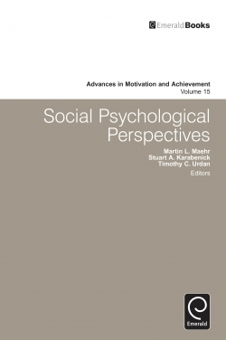 Jacket image for Social Psychological Perspectives