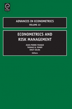 Jacket image for Econometrics and Risk Management