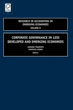Jacket image for Corporate Governance in Less Developed and Emerging Economies