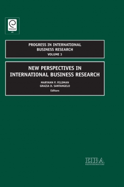 Jacket image for New Perspectives in International Business Research