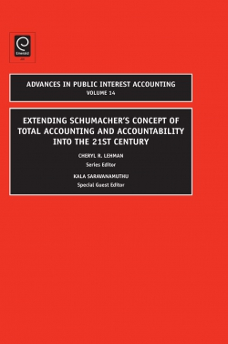 Jacket image for Extending Schumacher's Concept of Total Accounting and Accountability into the 21st Century