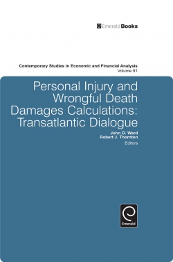 Jacket image for Personal Injury and Wrongful Death Damages Calculations