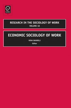 Jacket image for Economic Sociology of Work