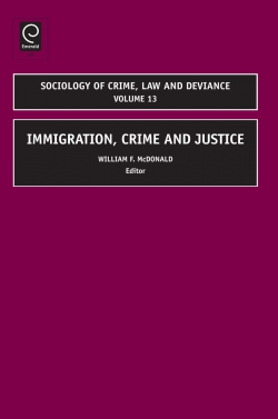 Jacket image for Immigration, Crime and Justice