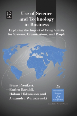 Jacket image for Use of Science and Technology in Business
