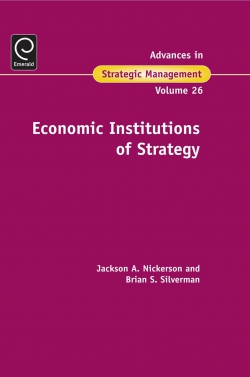 Jacket image for Economic Institutions of Strategy