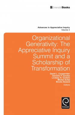 Jacket image for Organizational Generativity