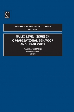 Jacket image for Multi-Level Issues In Organizational Behavior And Leadership