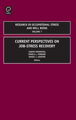 Jacket image for Research in Occupational Stress and Well being