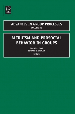 Jacket image for Altruism and Prosocial Behavior in Groups