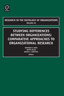 Jacket image for Studying Differences Between Organizations