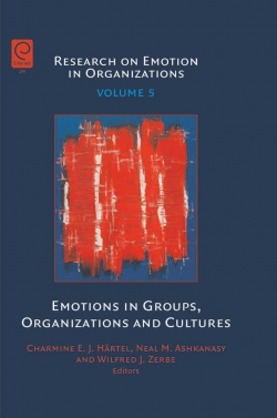 Jacket image for Emotions in Groups, Organizations and Cultures