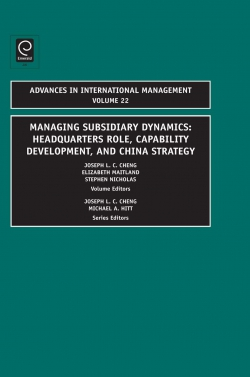Jacket image for Managing Subsidiary Dynamics