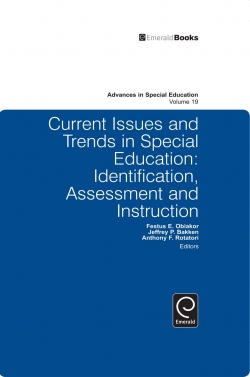 Jacket image for Current Issues and Trends in Special Education.