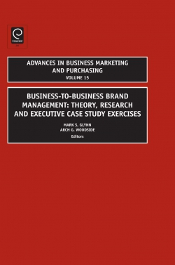 Jacket image for Business-to-Business Brand Management