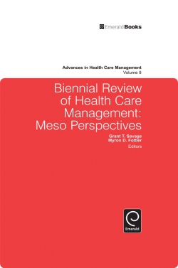 Jacket image for Biennial Review of Health Care Management