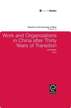 Jacket image for Work and Organizations in China after Thirty Years of Transition