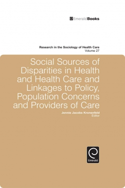Jacket image for Social Sources of Disparities in Health and Health Care and Linkages to Policy, Population Concerns and Providers of Care