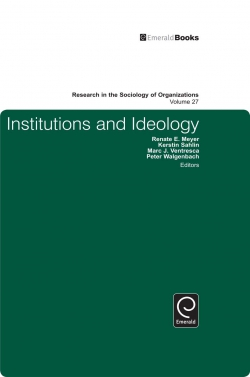 Jacket image for Institutions and Ideology