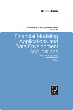 Jacket image for Financial Modeling Applications and Data Envelopment Applications