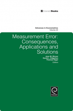Jacket image for Measurement Error