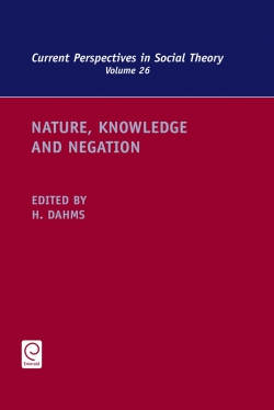 Jacket image for Nature, Knowledge and Negation