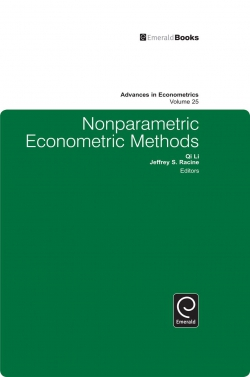 Jacket image for Nonparametric Econometric Methods