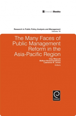 Jacket image for The Many Faces of Public Management Reform in the Asia-Pacific Region