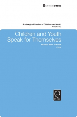 Jacket image for Children and Youth Speak for Themselves
