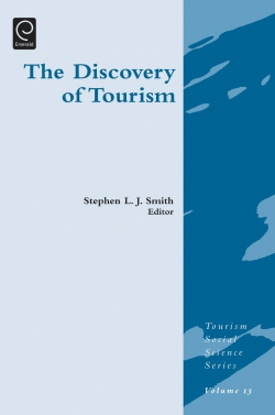 Jacket image for Discovery of Tourism