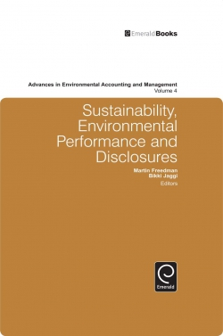 Jacket image for Sustainability, Environmental Performance and Disclosures