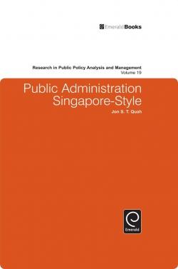 Jacket image for Public Administration Singapore-Style
