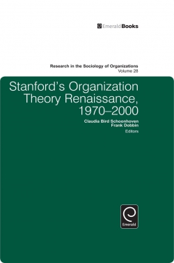 Jacket image for Stanford's Organization Theory Renaissance, 1970-2000