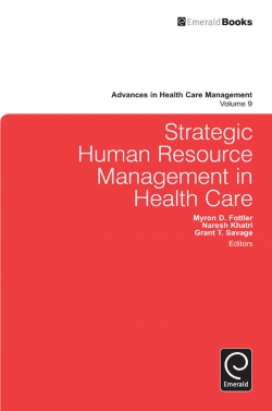 Jacket image for Strategic Human Resource Management in Health Care