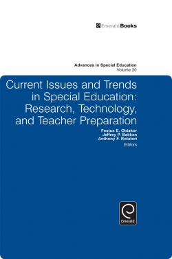 Jacket image for Current Issues and Trends in Special Education