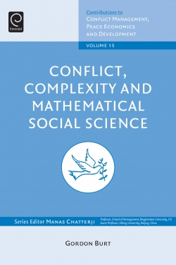 Jacket image for Conflict, Complexity and Mathematical Social Science