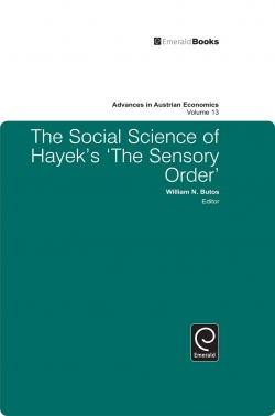 Jacket image for The Social Science of Hayek's The Sensory Order