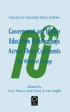 Jacket Image For: Government and Higher Education Relationships Across Three Continents