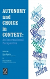 Jacket Image For: Autonomy and Choice in Context