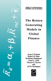 Jacket Image For: The Return Generating Models in Global Finance
