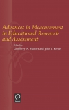 Jacket Image For: Advances in Measurement in Educational Research and Assessment