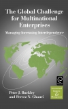 Jacket Image For: The Global Challenge for Multinational Enterprises