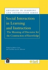 Jacket Image For: Social Interaction in Learning and Instruction