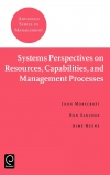 Jacket Image For: Systems Perspectives on Resources, Capabilities, and Management Processes